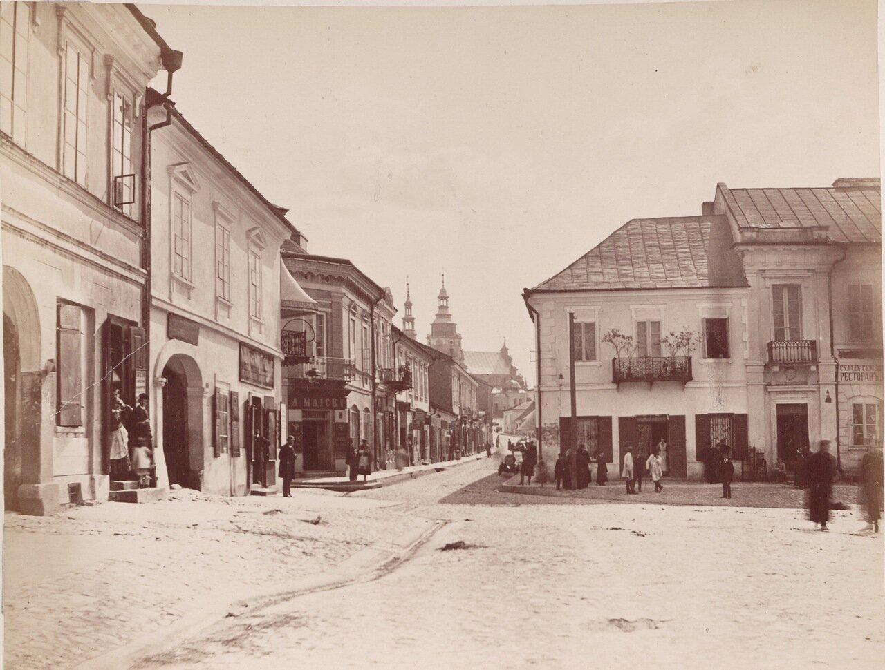 Улица в городе Кельце
