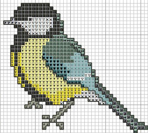 Птички - 14 схем