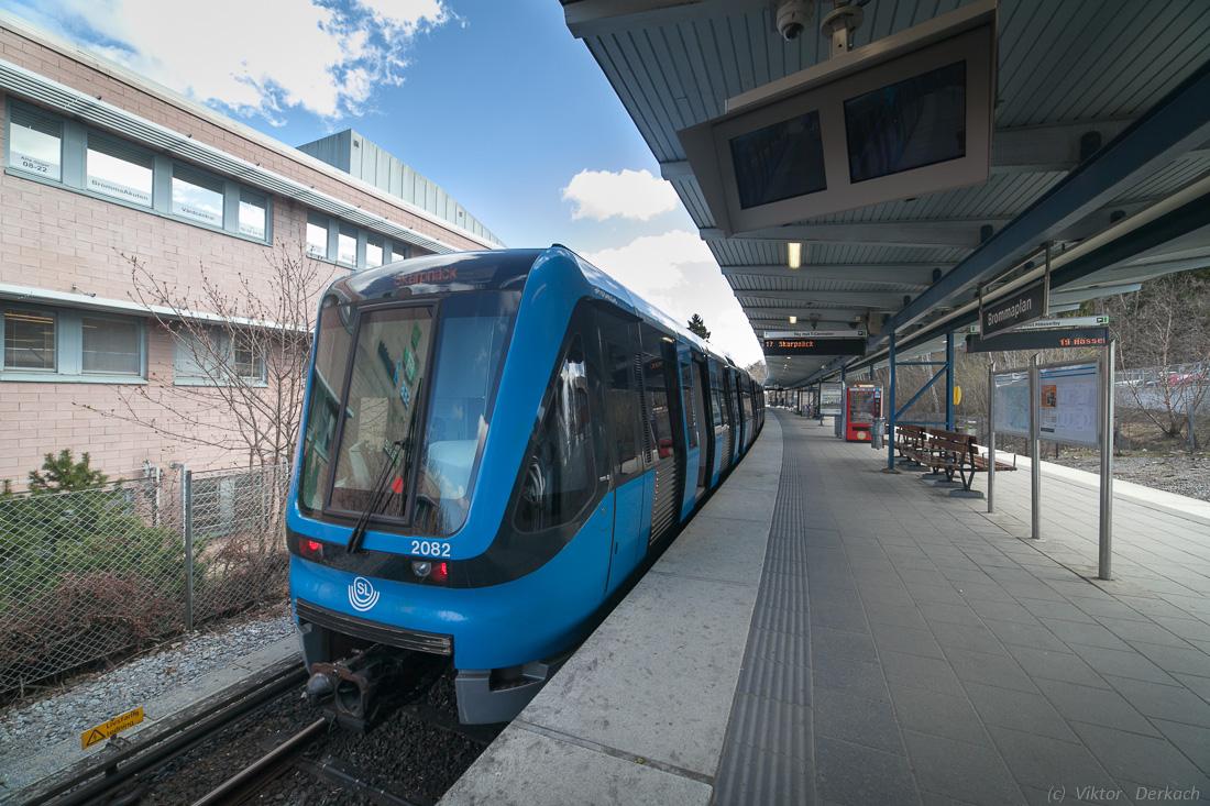 стокгольм метро