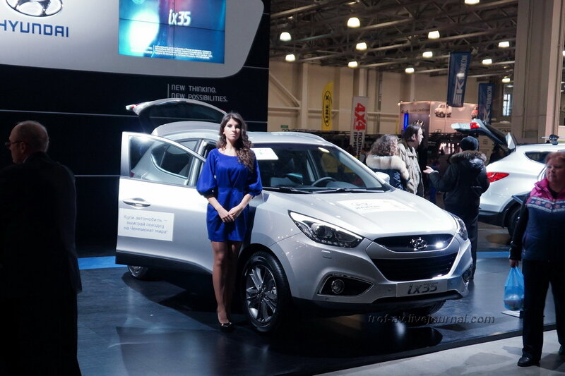 """Hyundai, выставка """"Вездеходы-2014"""", Москва"""
