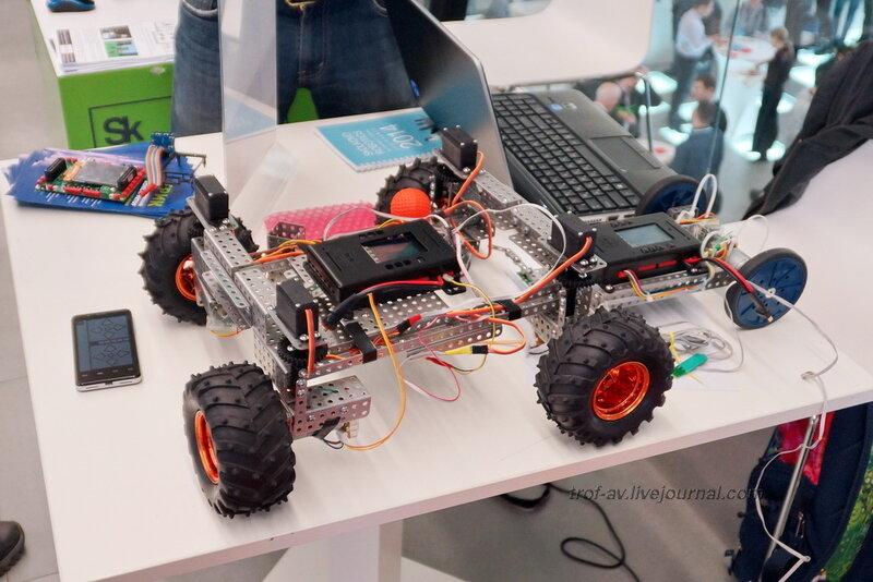 Унифицированная програмно-аппаратная платформа ТРИК для прототипирования персональных и сервисных роботов, Конференция и выставка Skolkovo Robotics 2014