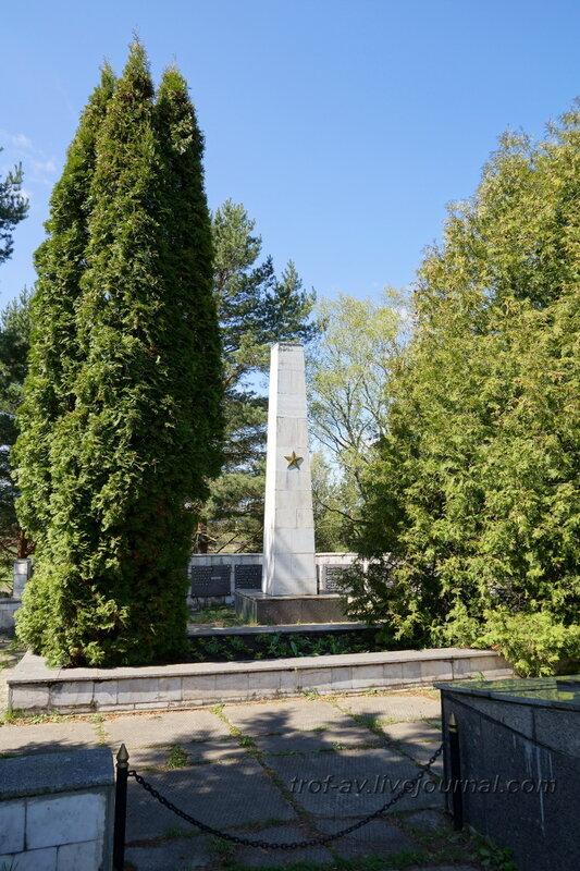 Братская могила воинов РККА, погибших в битве под Москвой, Троицкое