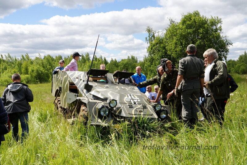 После боя. 22 июня, реконструкция начала ВОВ в Кубинке (2 часть)