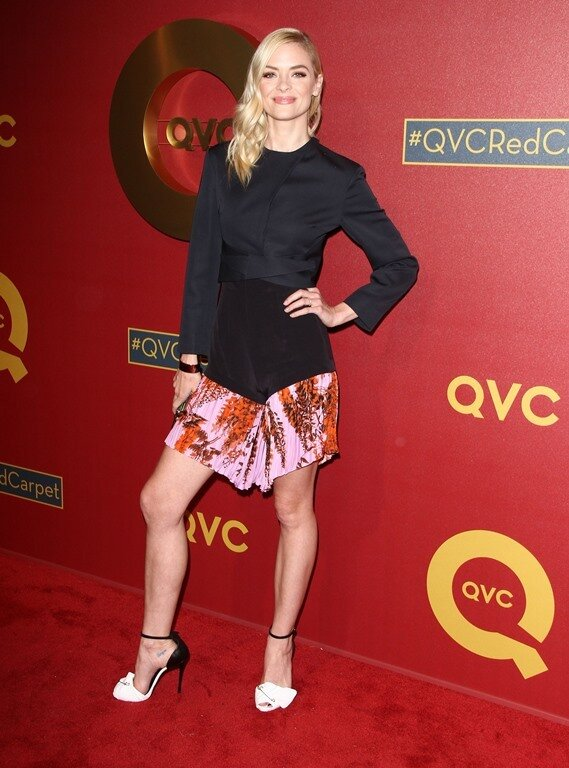 113995, Jaime King attends the 5th Annual QVC Red Carpet Style held at the Four Seasons Hotel in Los Angeles on Thursday February, 13, 2014. Photograph: © Pacific Coast News. Los Angeles Office: +1 310.822.0419 London Office: +44 208.090.4079 sales@pacifi