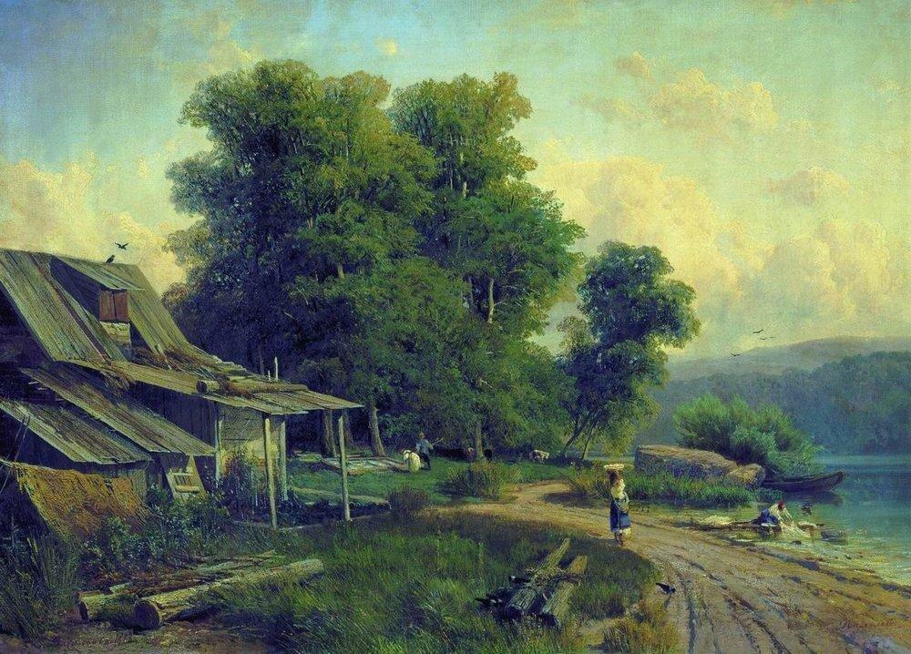 Пейзаж. Парголово (Вид в Парголове). 1868.jpg