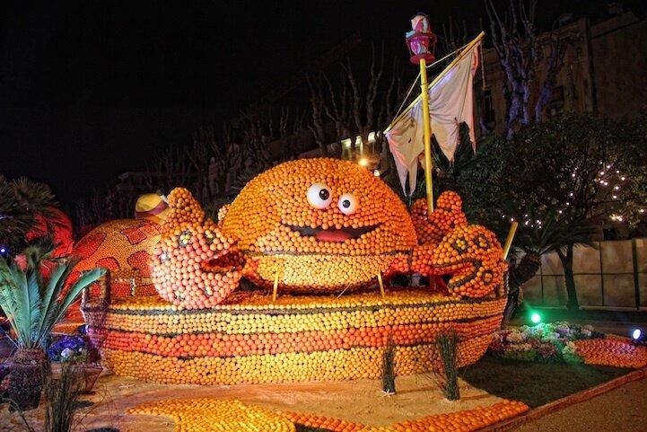 Фестивали во Франции - праздник лимонов