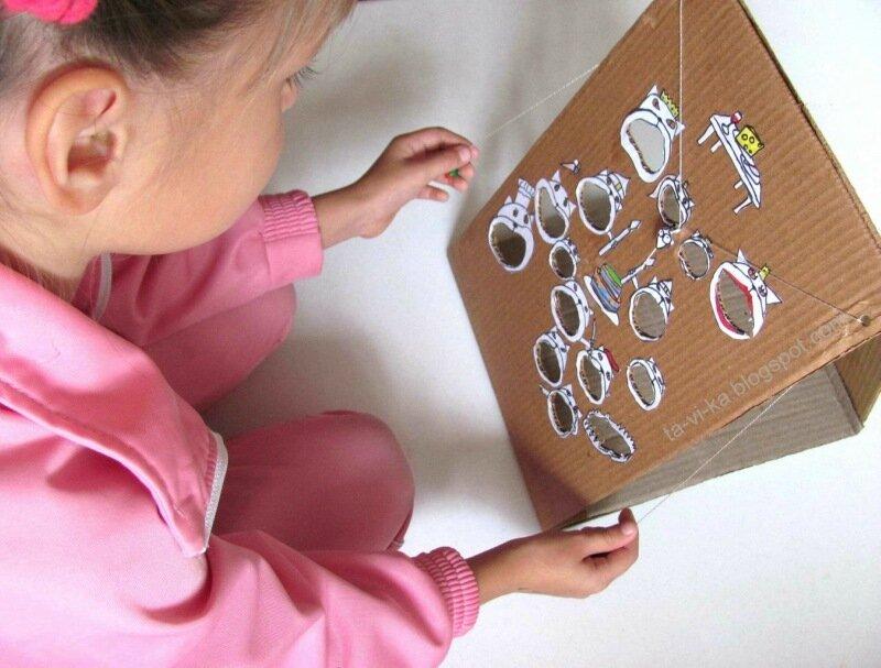 развивающая игрушка своими руками - лабиринт