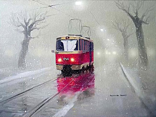 Андрей Репников. Старенький трамвай