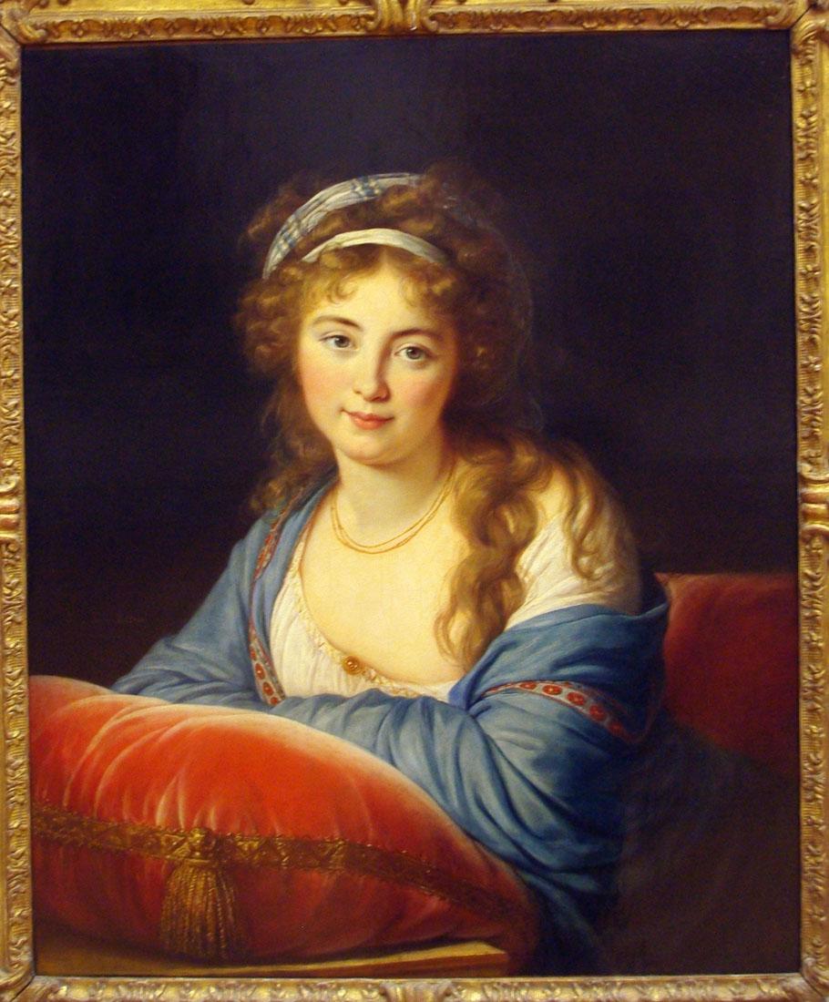 Элизабет-Луиза Виже-Лебрён. Портрет княгини Скавронской.