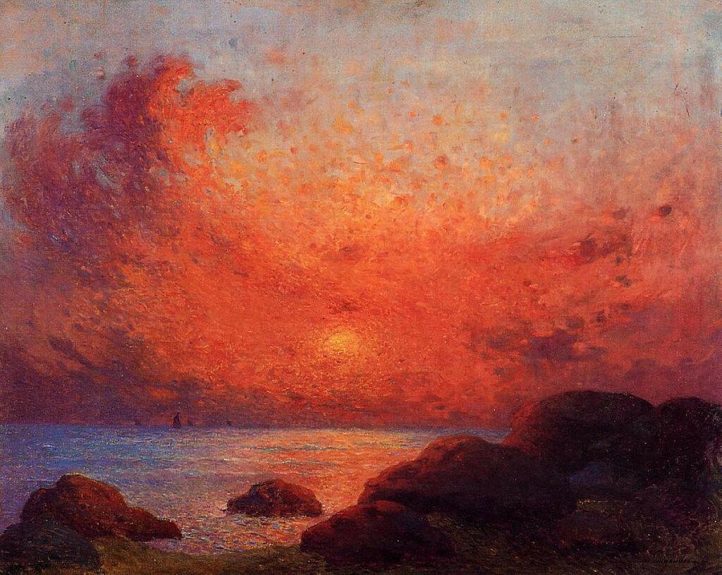 Ferdinand du Puigaudeau - The Sun Setting.jpeg