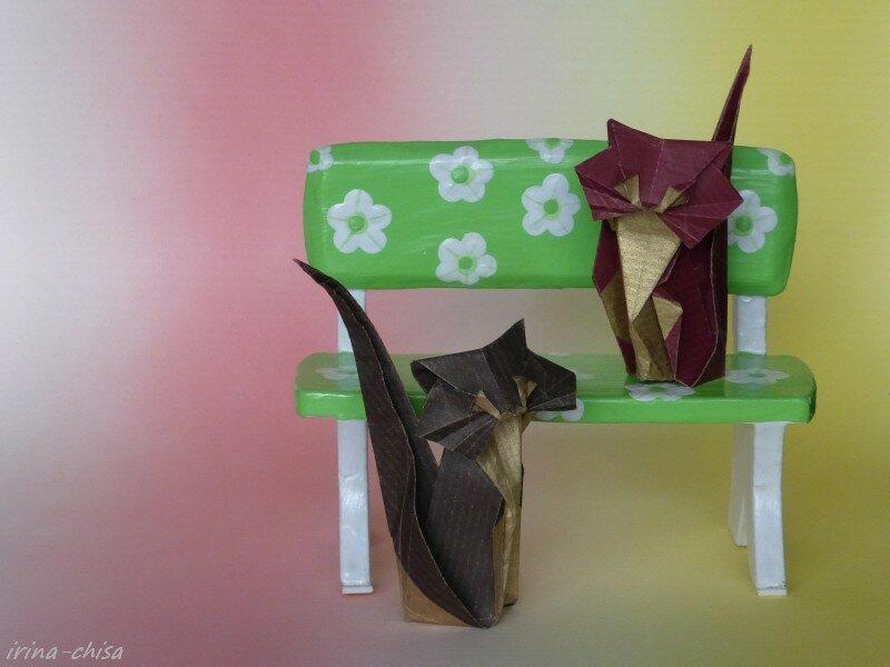 Кошка от Roman Diaz.
