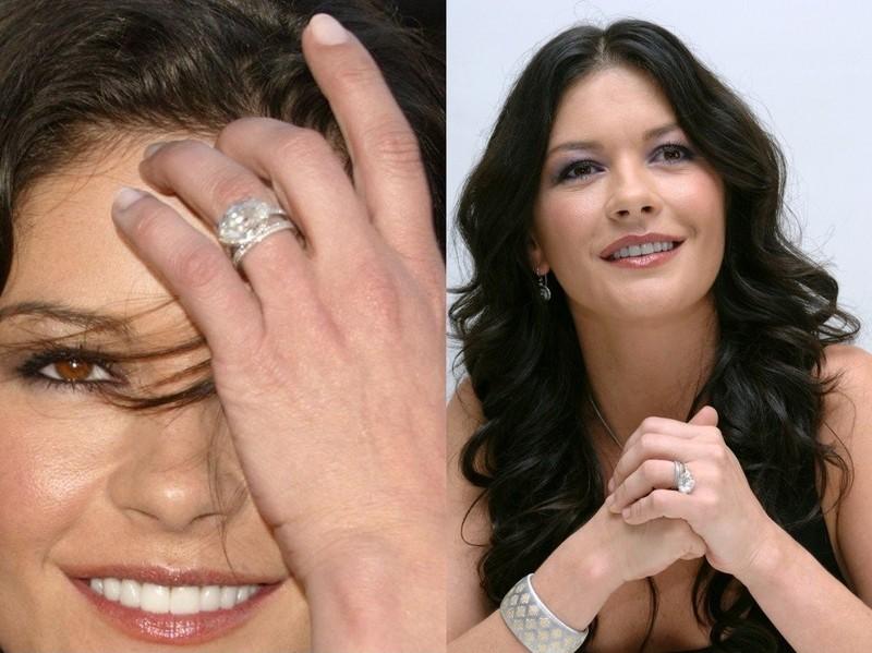 3. Кэтрин Зета-Джонс, 2,5 млн долларов Когда Кэтрин Зета-Джонс обручилась с Майклом Дугласом, он пот