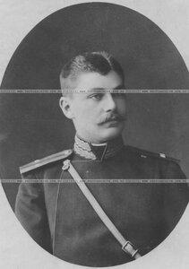 Подпоручик бригады в парадном мундире (портрет).