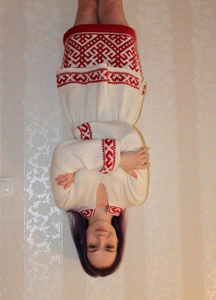 Костюм Славяночка автор lana29.09 с осинки