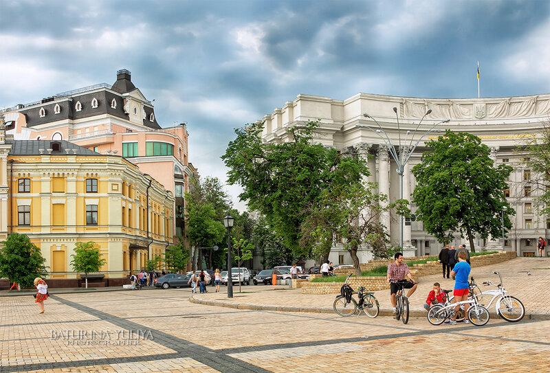 Будничный Киев