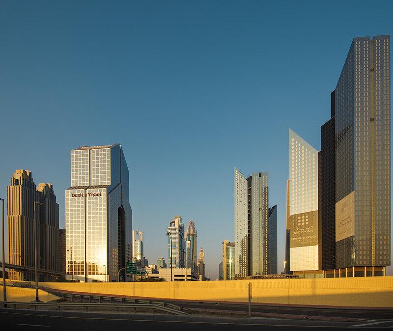 Дубайские небоскрёбы