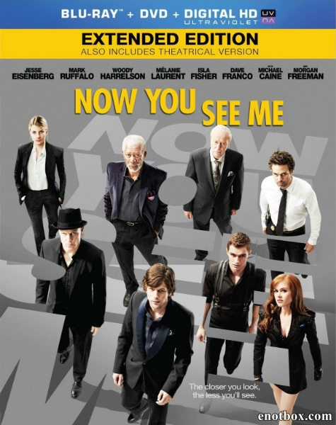 Иллюзия обмана / Now You See Me [EXTENDED] (2013/BDRip/HDRip)