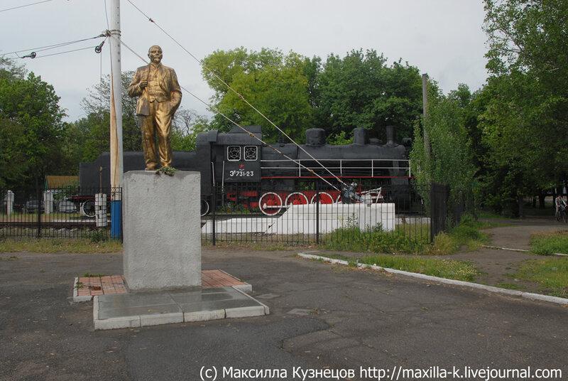 Ленин в Мелитополе