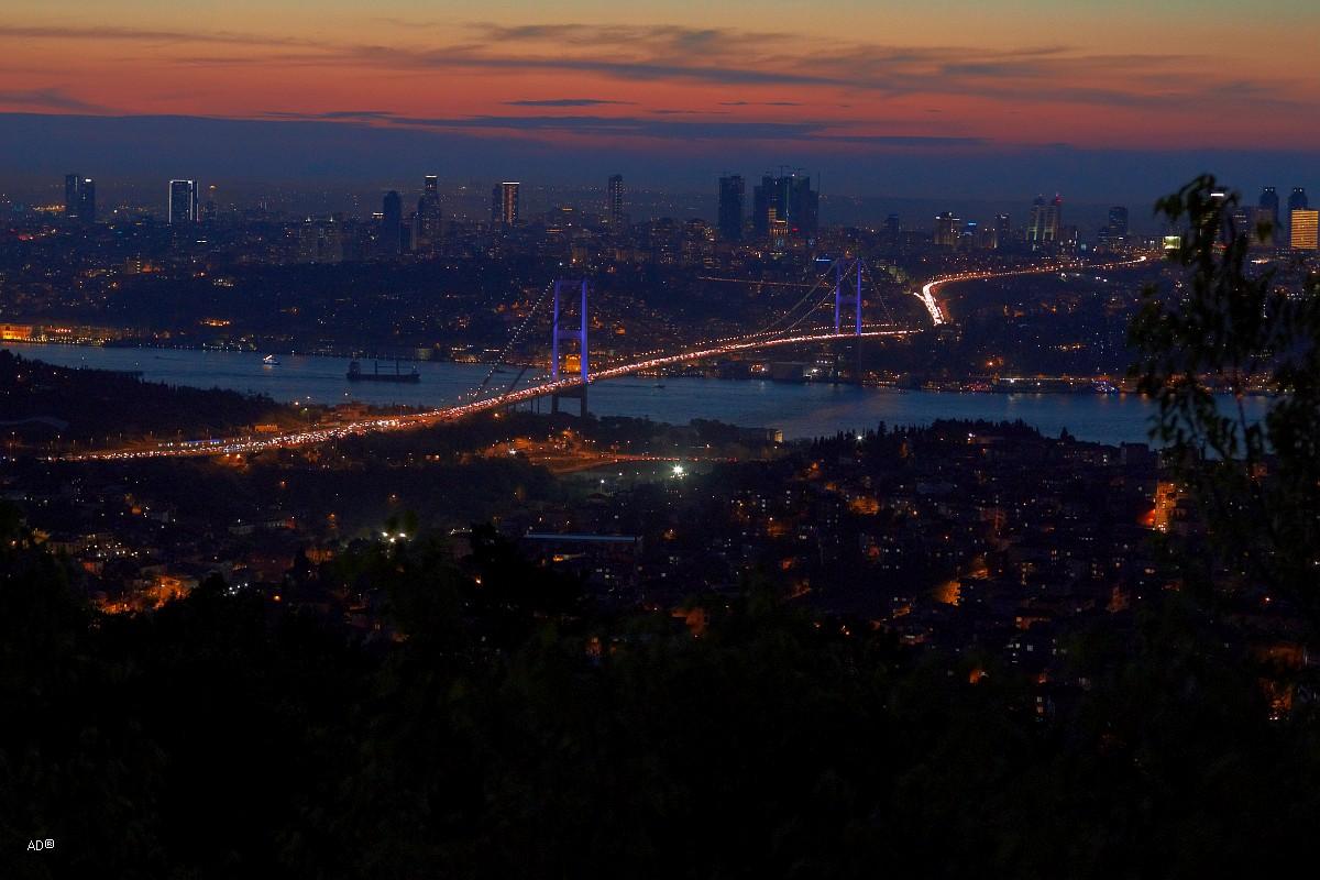 Стамбул 2015 - Виды Стамбула на закате с Чалымджа