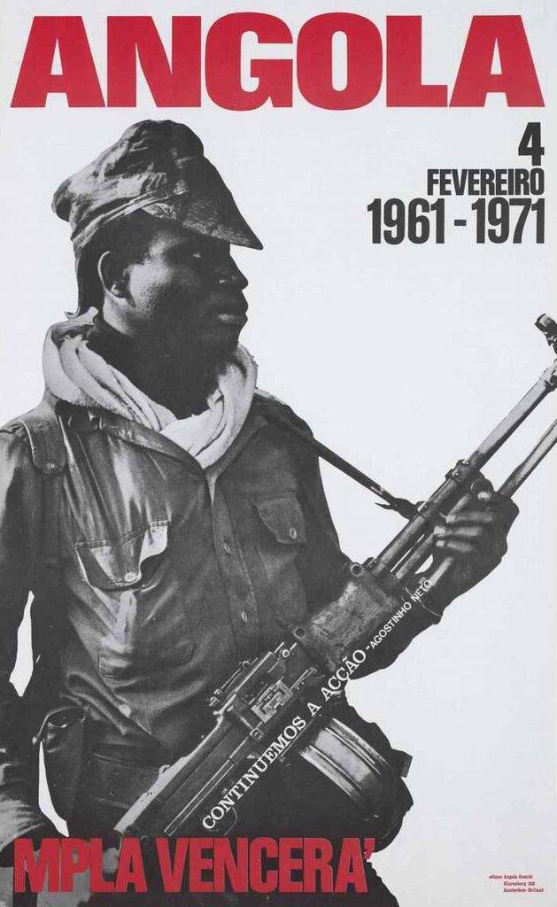 4 февраля 1961 года - 10 лет борьбы за освобождение Анголы. Победа МПЛА