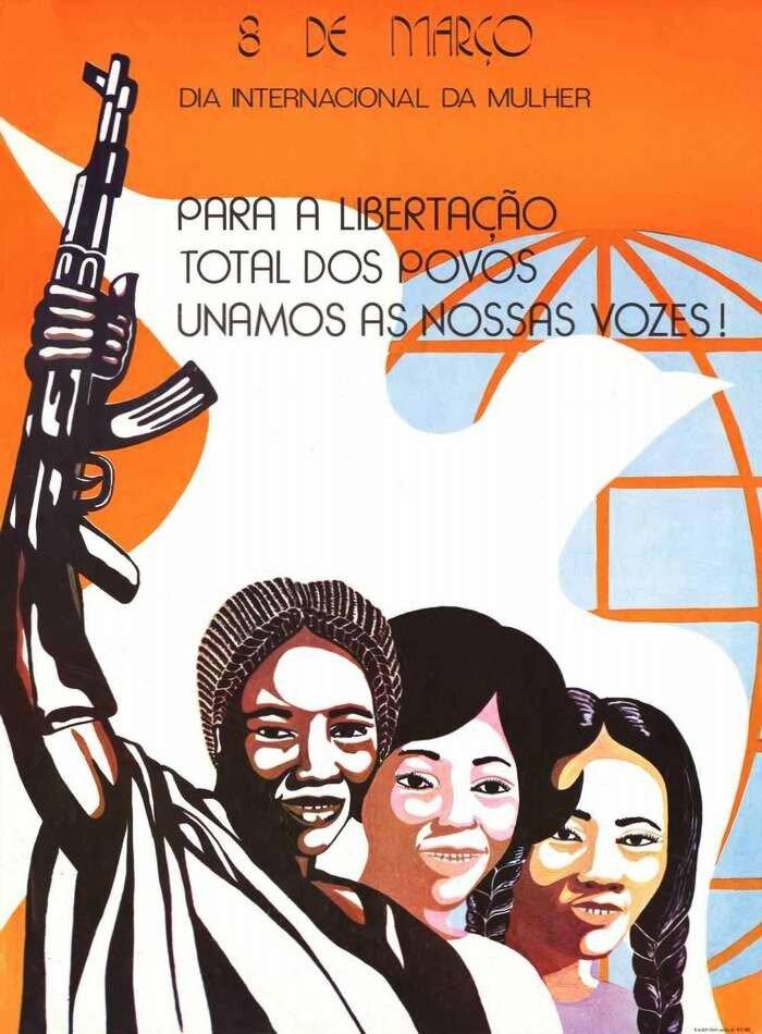 8 марта - Международный женский день: Объединим наши голоса в целях обеспечения освобождения всех народов