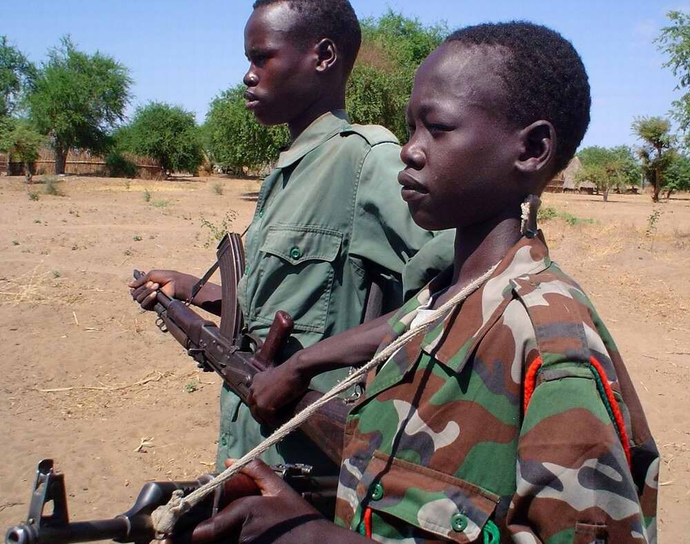 Дети солдаты - Судан