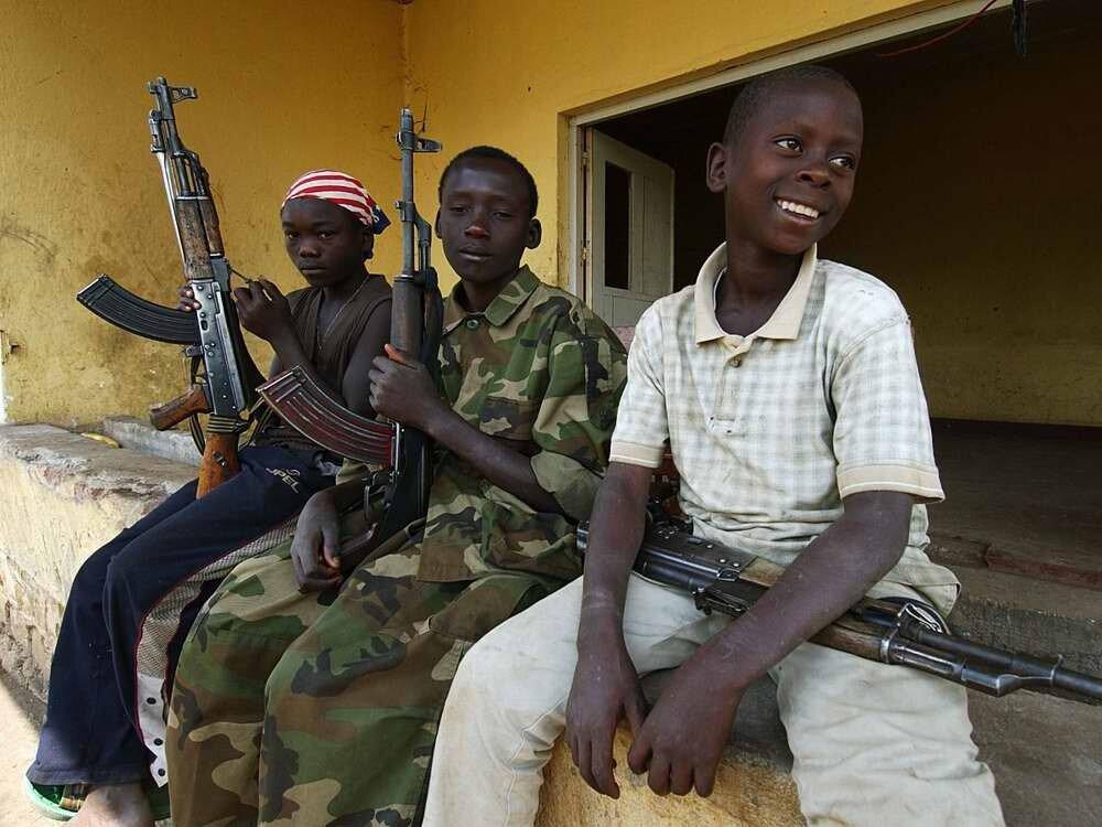 Дети солдаты - Конго (7)