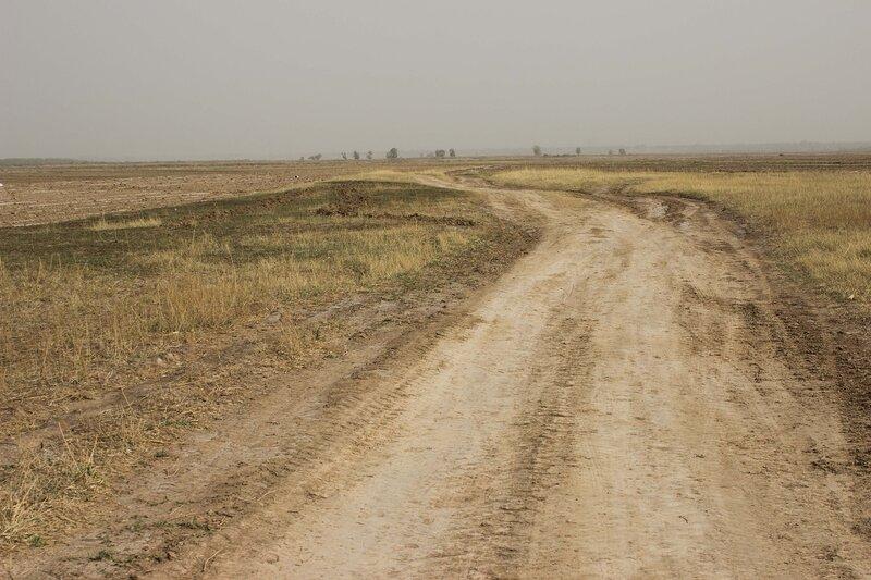 пейзаж в долине Хэтао, Внутренняя Монголия, Китай
