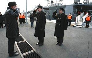 Во Владивостоке встретили отряд кораблей после боевой службы