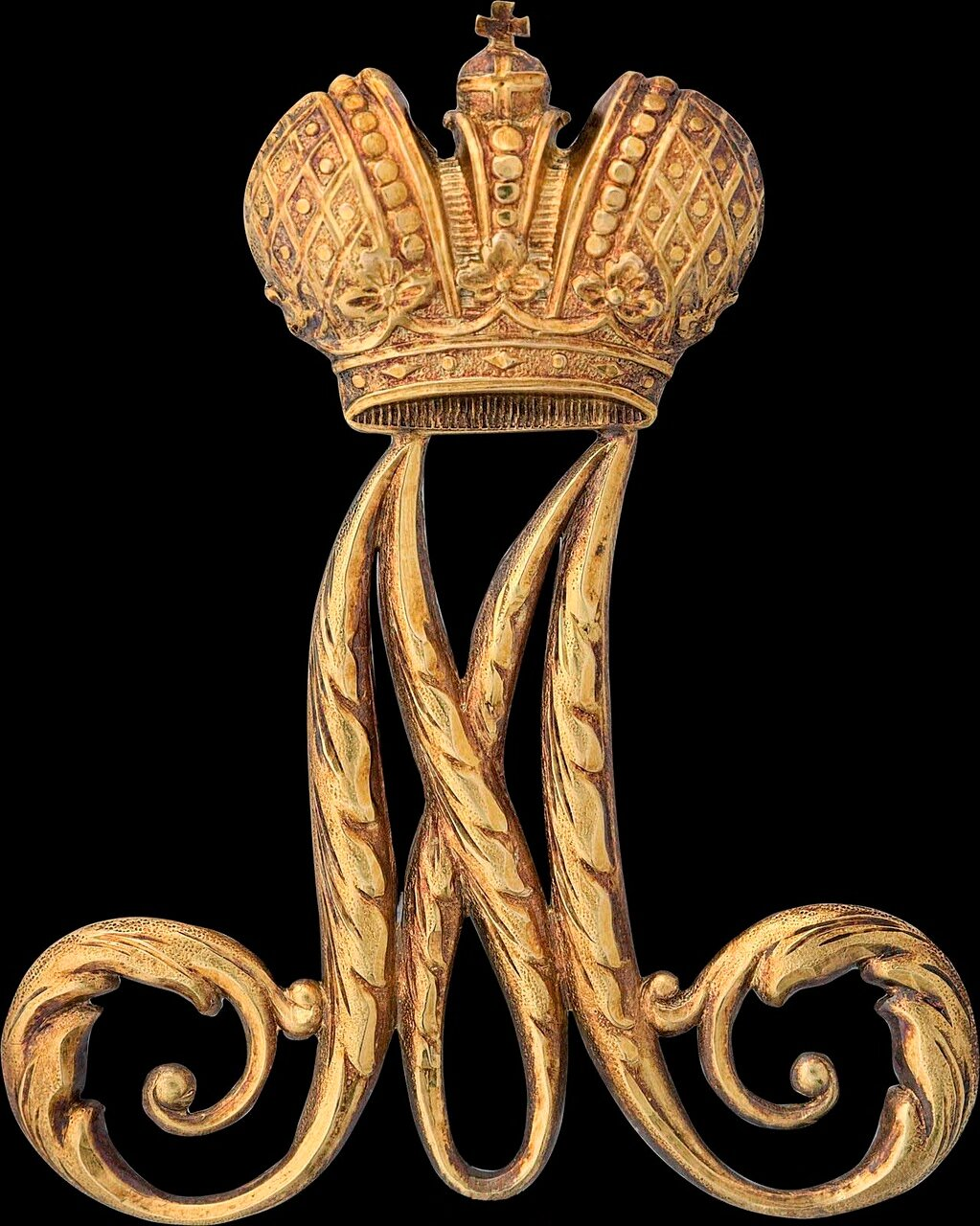 Знак-шифр для награждения воспитанниц Института Императрицы Марии