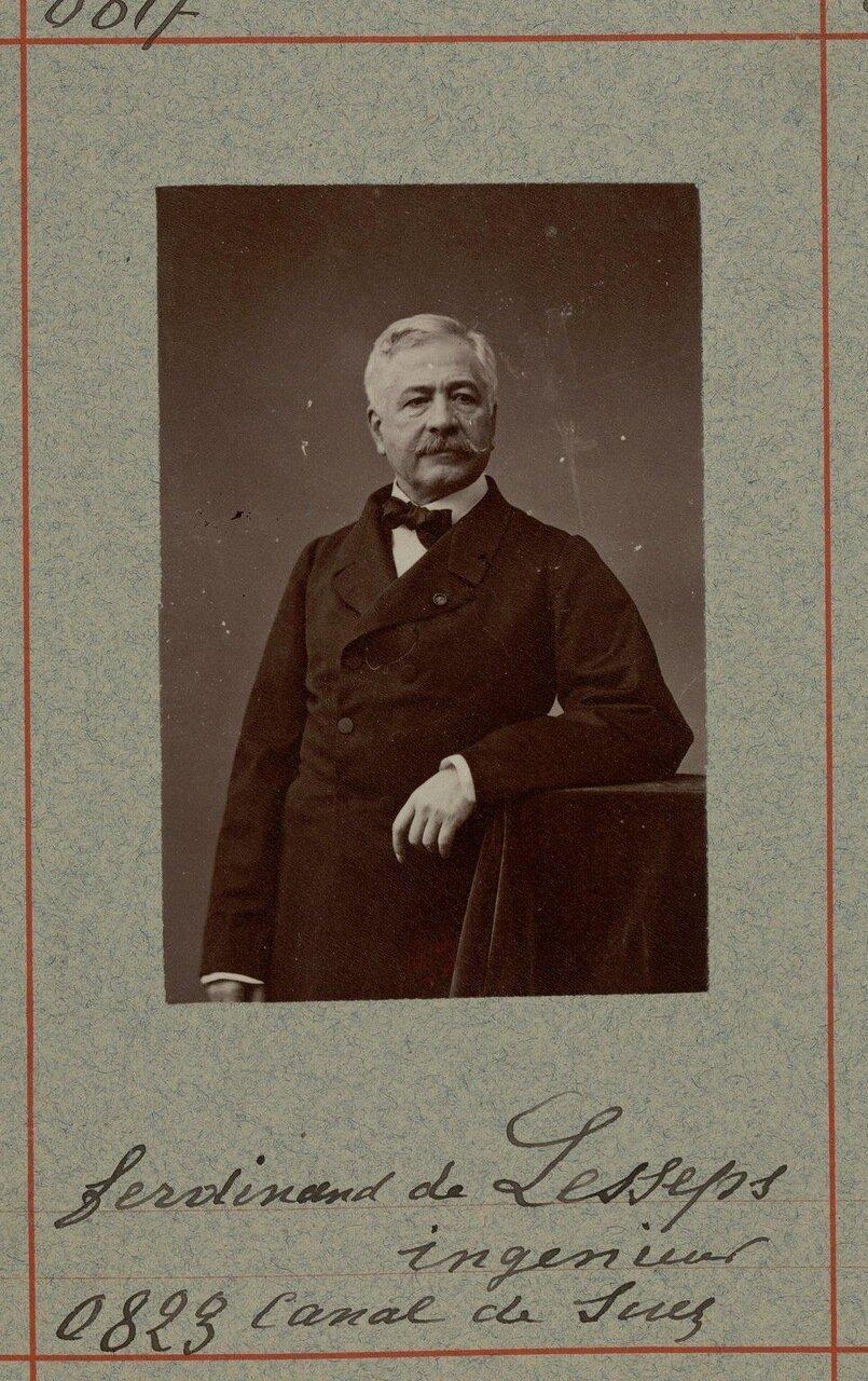 Фердинанд Мари виконт де Лессепс (19 ноября 1805, Версаль — 7 декабря 1894, Гийи)  — французский дипломат, руководитель строительства Суэцкого канала. По образованию юрист.