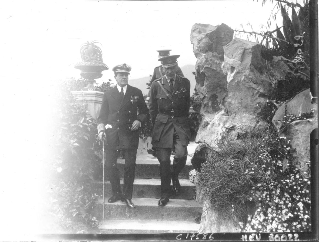 Дэвид Битти, 1-й граф Битти, Первый лорд Адмиралтейства  и генерал Уилсон