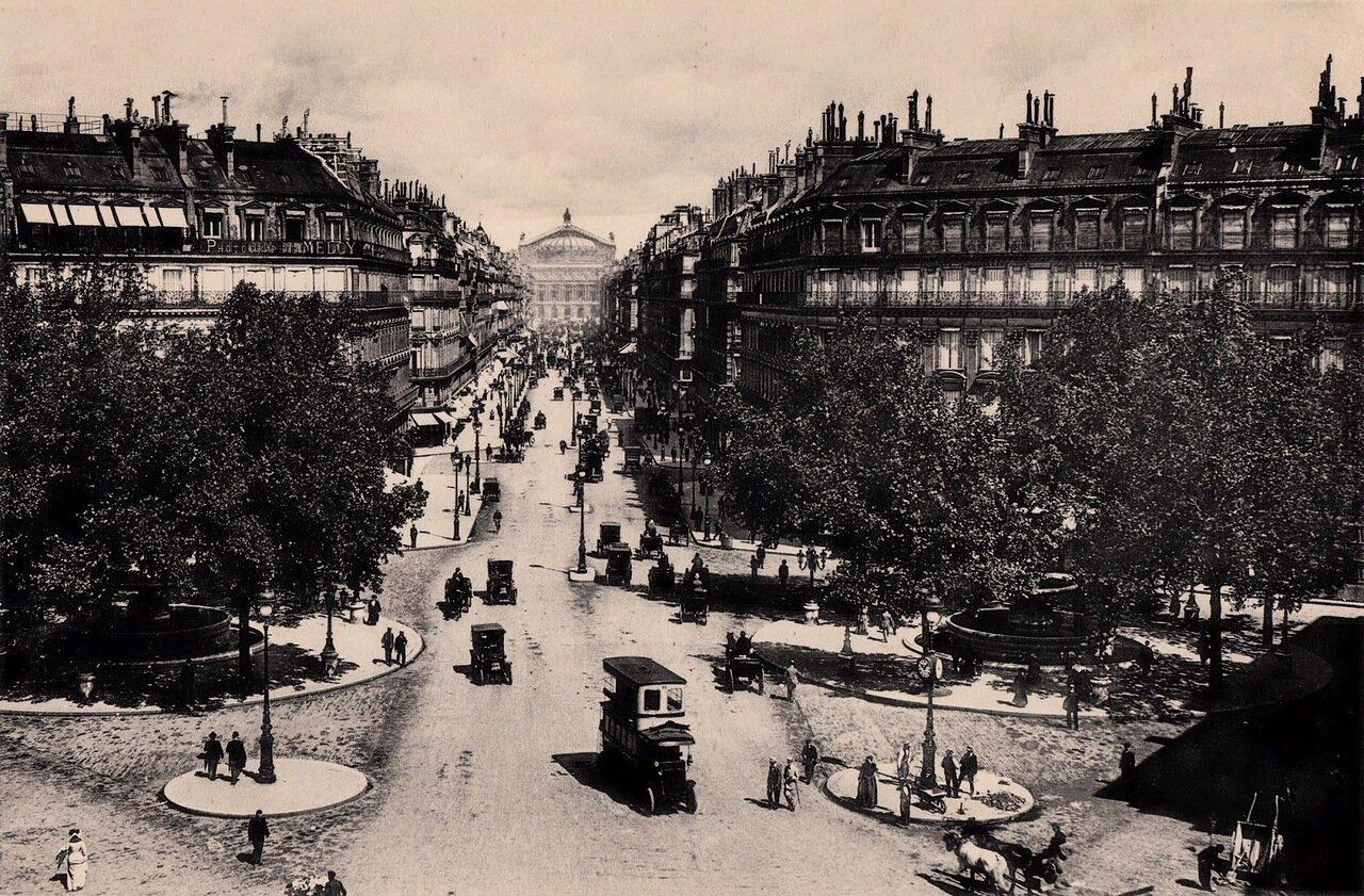 1910-е. Авеню Оперы