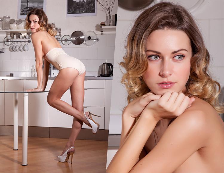 Российская модель Ольга Альберти (Naomi D / Beau M / Olga Albert / Olga Alberti / Olga Popova)