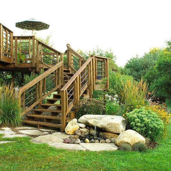Садовые дворики. Ландшафтный дизайн  - фото 35