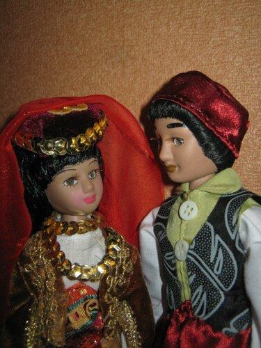 Куклы в Костюмах Народов Мира №51 - Турция