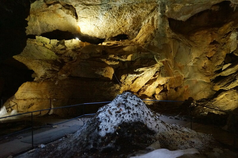 Пещера Трехглазка (Ледовая), гора Ай-Петри, Крым