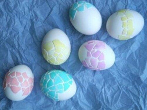 Мозаичные яйца