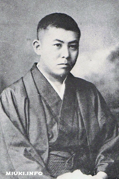 Японский писатель Танидзаки Дзюнъитиро