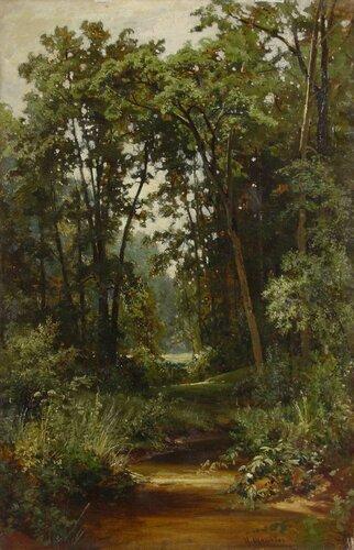 Шишкин И.И. В лесу. 1880-е гг. Холст, масло; 119х75.jpg