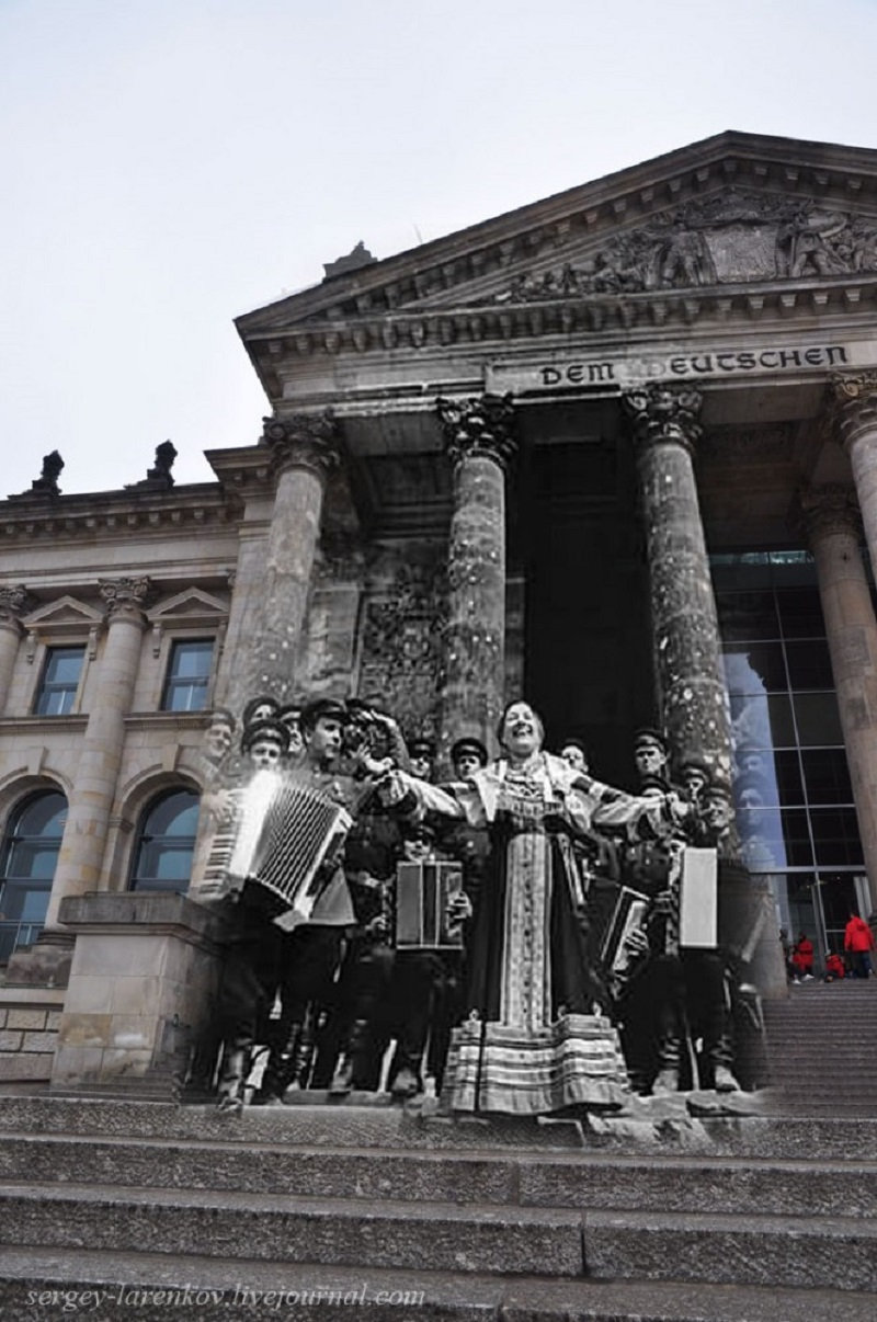 7 Берлин 1945-2010. Концерт Лидии Руслановой у Рейхстага..jpg
