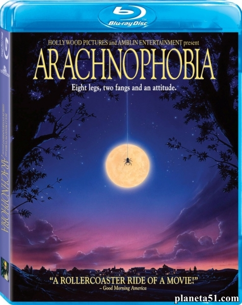Арахнофобия / Боязнь пауков / Arachnophobia (1990/DVDRip)