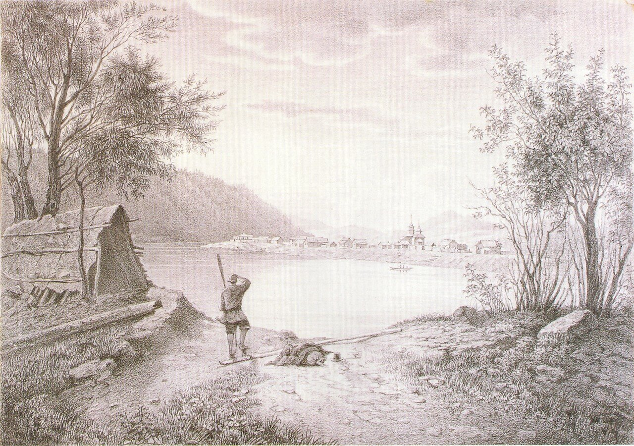 70. Деревня Жиндо на реке Чикой у китайской границы.jpg