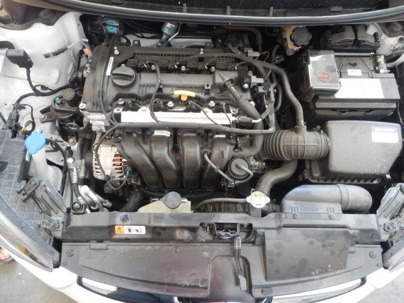двигатель после мойки, автосервис