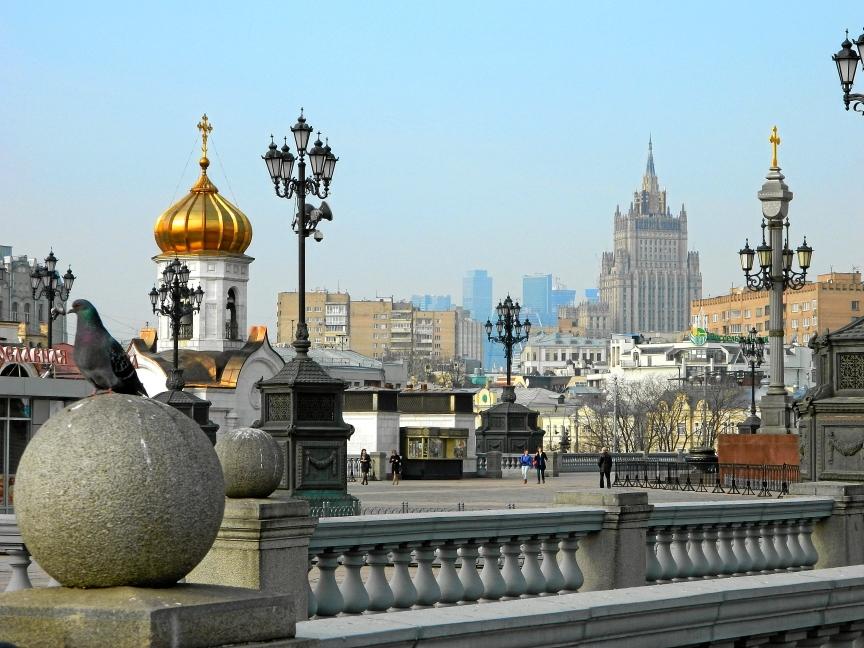 Москва. Патриарший мост - Храм Христа Спасителя - Остоженка
