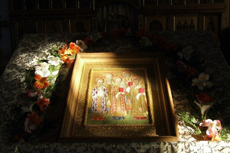 Храмовая икона - Святители Московские (16.04.2014)