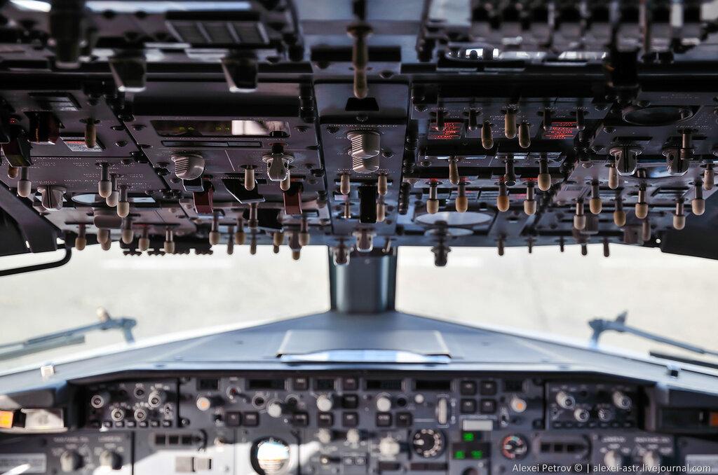 Как готовят самолет к вылету. Взгляд изнутри.