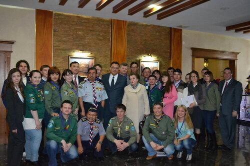 Международная скаутская конференция в Казахстане.