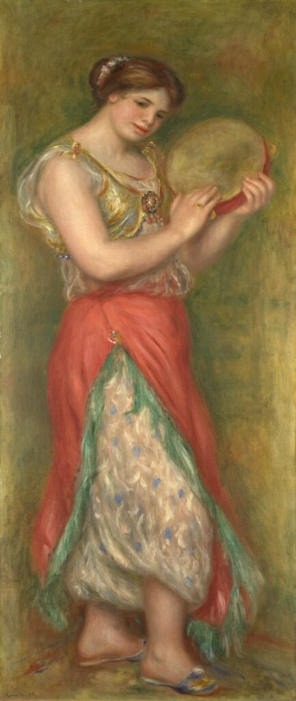 Dancing Girl with Tambourine