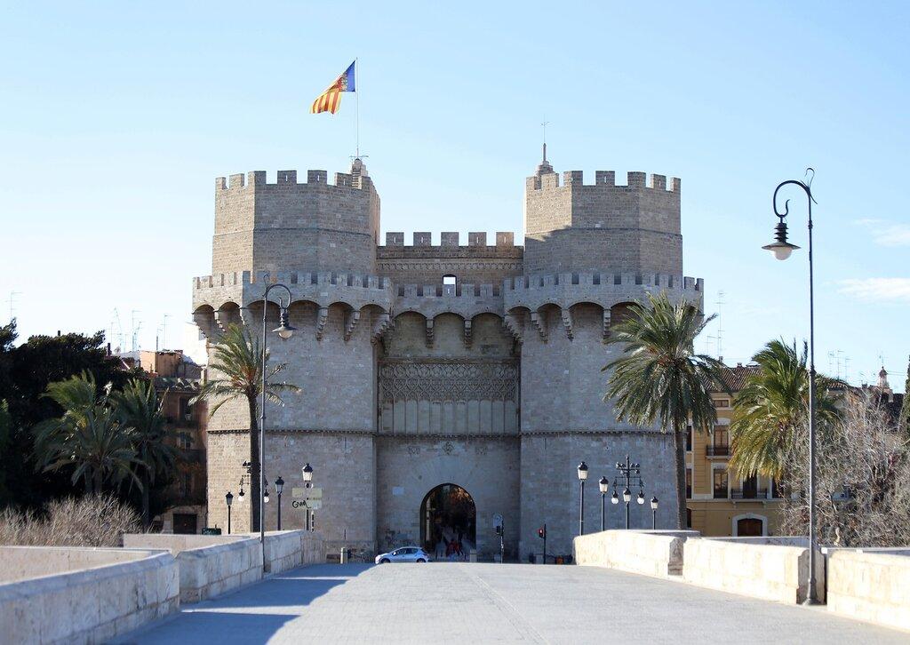 Валенсия, Valencia, Башни Серранос, Torres Serranos